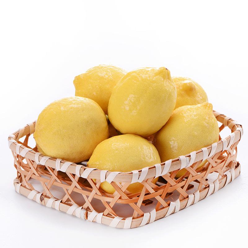 汇达柠檬 精品黄柠檬小果3斤
