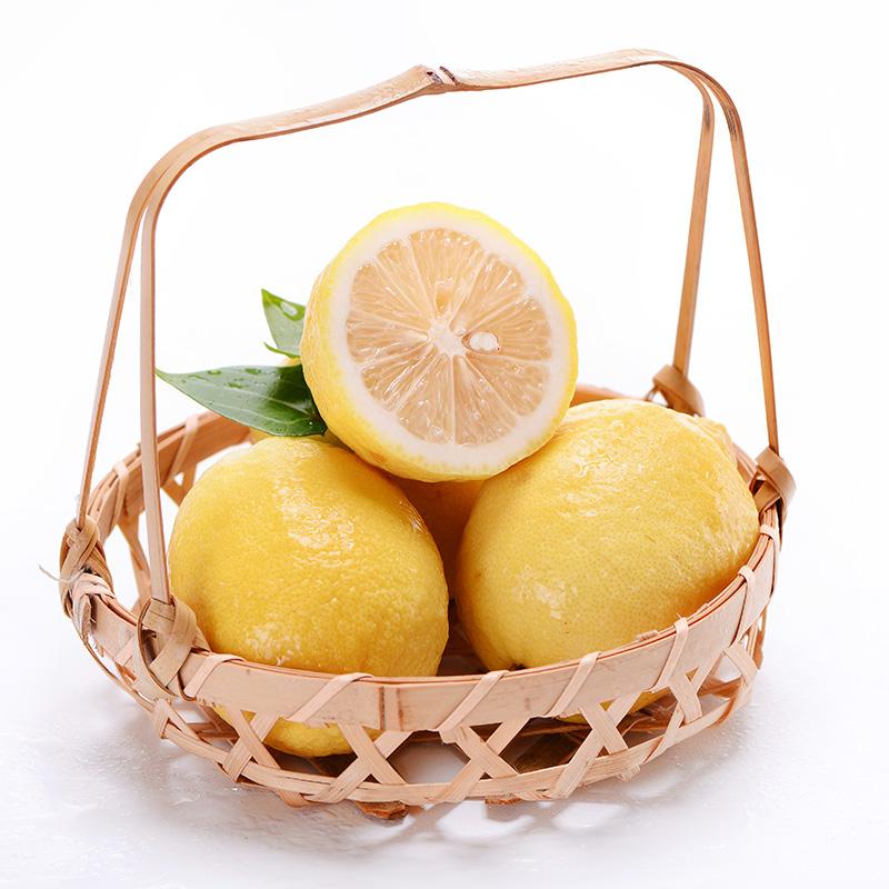 汇达柠檬 精品黄柠檬大果1斤
